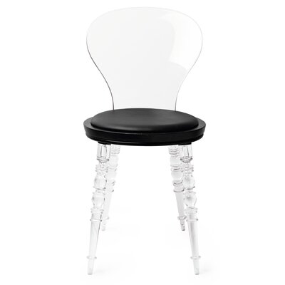 Johan Side Chair Finish: Clear