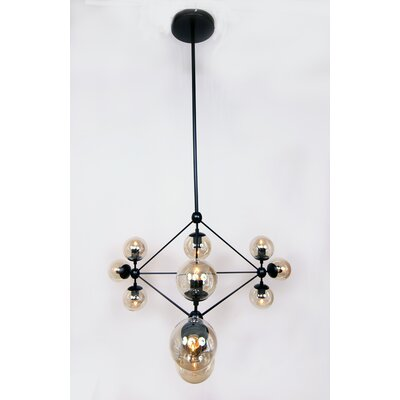 Barrista 10-Light Globe Pendant
