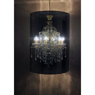 Megan 6-Light Drum Chandelier