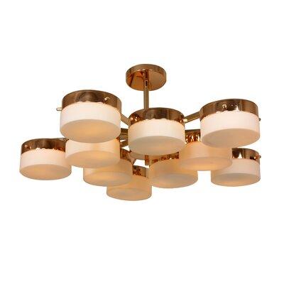 Multiplex 10-Light Cluster Pendant