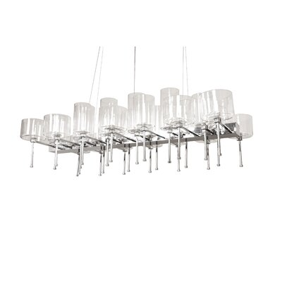 26-Light Kitchen Island Pendant