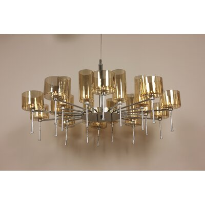 Osthammer 20-Light Candle-Style Chandelier