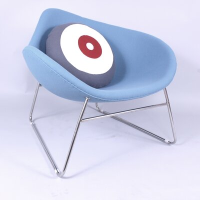 Spoon Lounge Chair Color: Blue