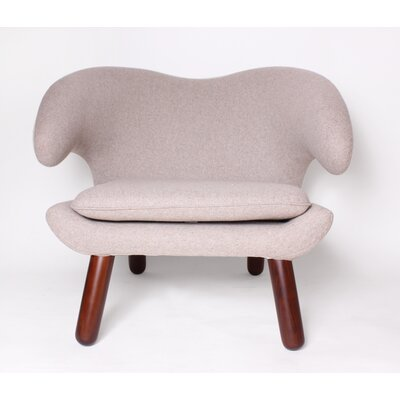 Pelican Lounge Chair Color: Wheat