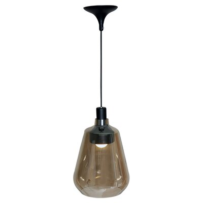 Murani 1-Light Pendant Finish: Brown