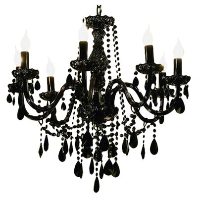 Gothic 8-Light Crystal Chandelier