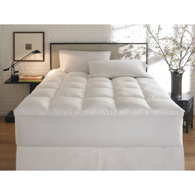 2 Polyester Mattress Topper Size: California King