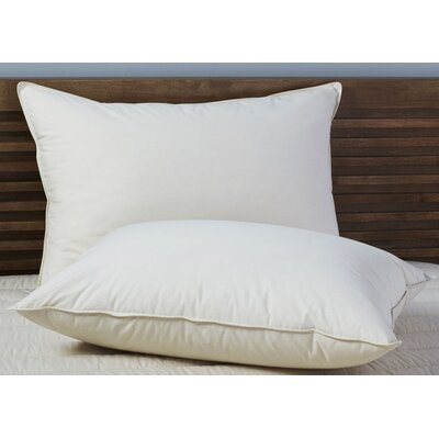 100% Down Pillow Size: Standard/Queen
