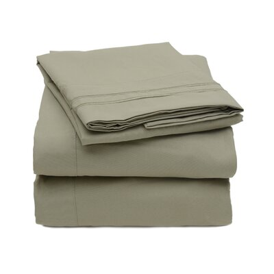 Sweet Home Collection 1800 Series Microfiber 4 Piece Sheet Set - Size: Full, Color: Camel at Sears.com
