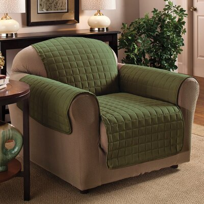 Chair Protector Slipcover Upholstery: Sage