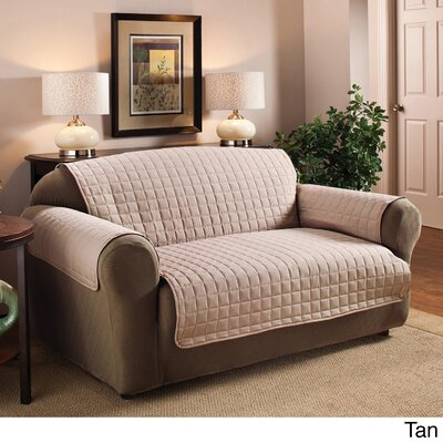 Luxury Sofa Protector Cover Upholstery: Tan