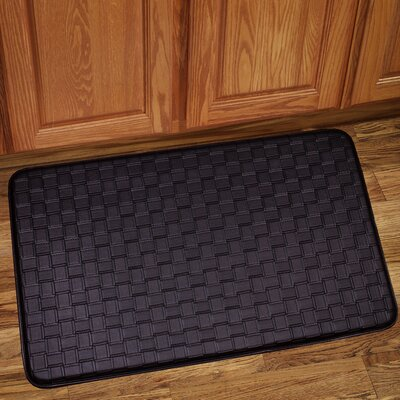 Otego Kitchen Mat Color: Chocolate, Rug Size: Rectangle 26 x 16