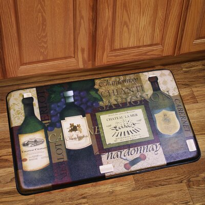 French Wine Mat