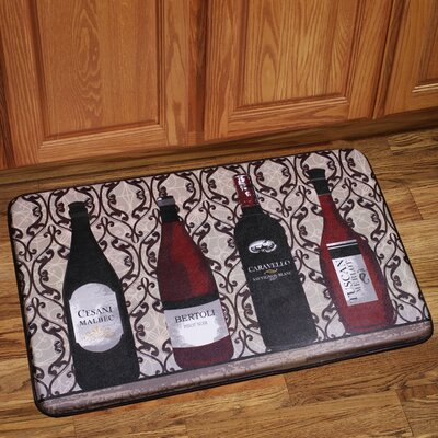 Wine Bottles Mat