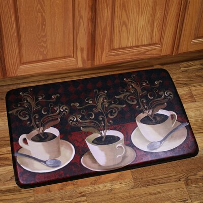 Lotus Caf� Kitchen Mat