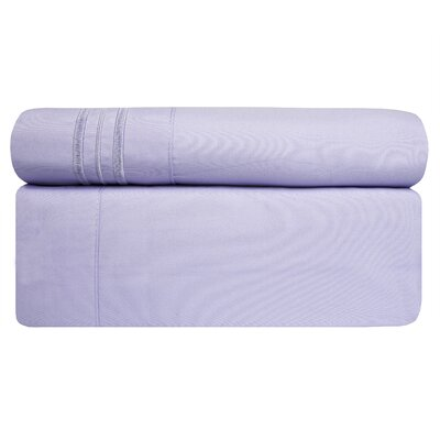 Microfiber Sheet Set Size: Queen, Color: Lavender