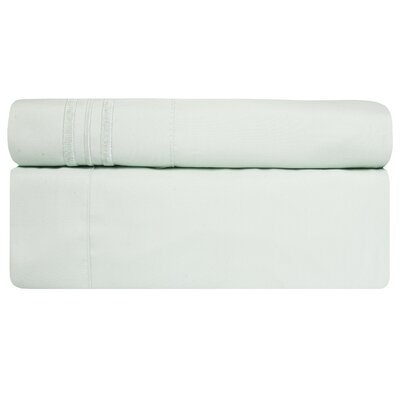 Microfiber Sheet Set Size: Twin, Color: Mint