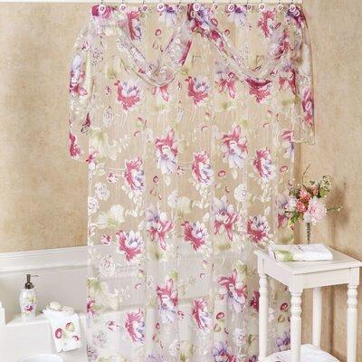 Flower Haven Bath Shower Curtain