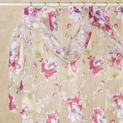 Flower Haven 13 Piece Shower Curtain Set