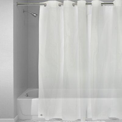 EVA Plastic Shower Curtain Finish: Frosted Clear