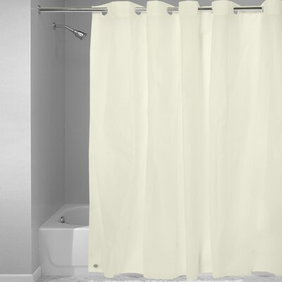 EVA Plastic Shower Curtain Finish: Ivory