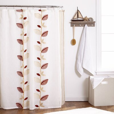 Alysia Leaf Shower Curtain