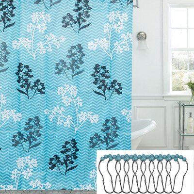 13 Piece Shower Curtain Set