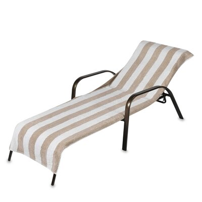 Chaise Lounge Cover Color: Sand