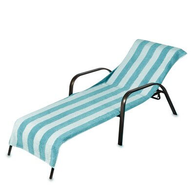 Chaise Lounge Cover Color: Teal