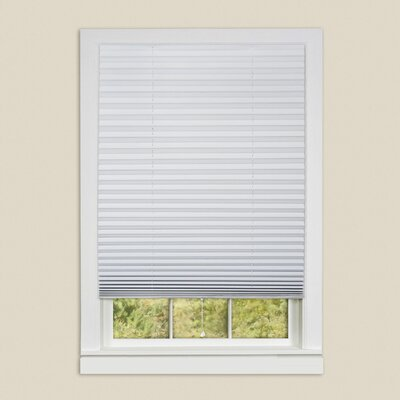 Vinyl Room Darkening Temporary Pleated Shades