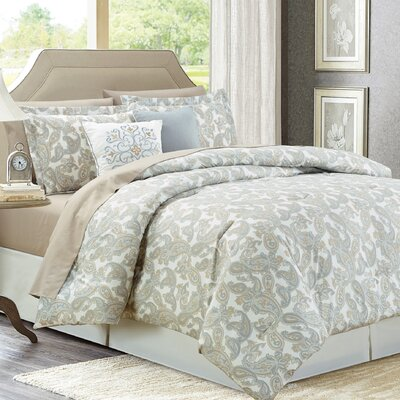 9 Piece Bed in a Bag Set Size: Queen
