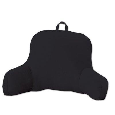 Saulsbury Plush Bed Rest Pillow Color: Black