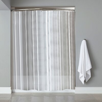 Vinyl Shower Liner Color: Clear