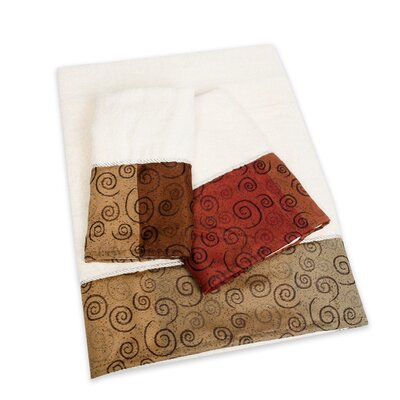 Miramar 3 Piece Towel Set