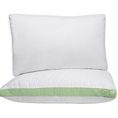 Iso Pedic Hypoallergenic Fill Firm Polyfill Pillow Size: 20 H x 36 W