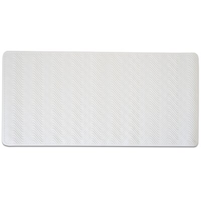 Extra Large Non-Slip Natural Rubber Breeze Doormat Color: White