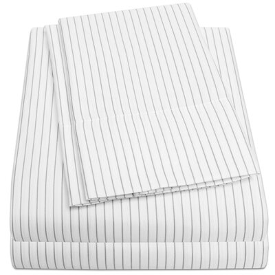 Bergeronnes Sheet Set Size: Queen, Color: White