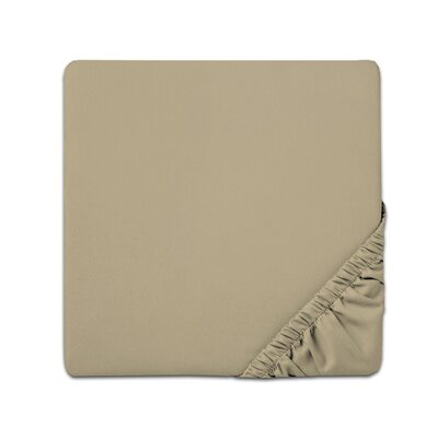 Fitted Sheet Color: Sage, Size: Full