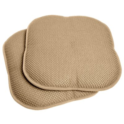 Dining Chair Cushion Fabric: Taupe
