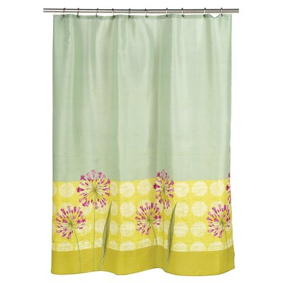 Serene Floral Shower Curtain