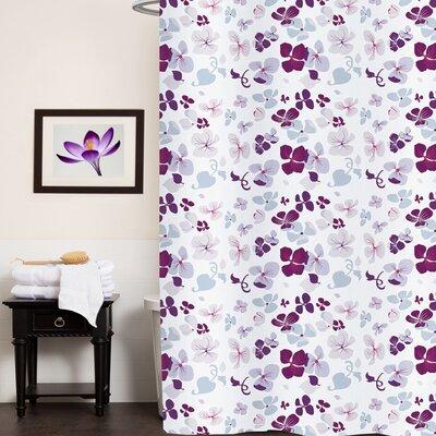Valentines Floral Shower Curtain