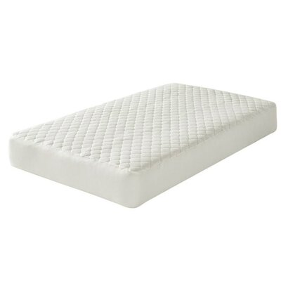 Natural Organic Cotton Quilted Mattress Pad Cover KIDS-MAT-PAD