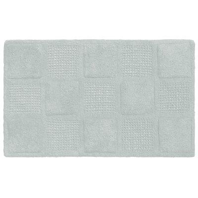 Waffle Weave Cotton Bath Rug Color: Spa Blue