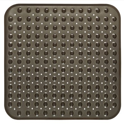 Vinyl Stall Shower Mat Color: Black