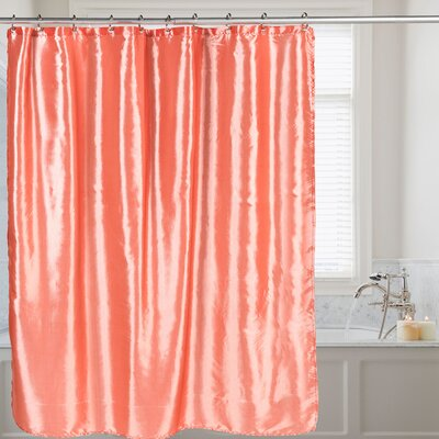 Shower Curtain Color: Salmon