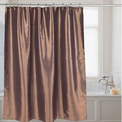 Shower Curtain Color: Bronze