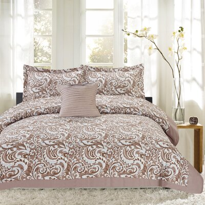 City Paisley 4 Piece Comforter Set Size: King