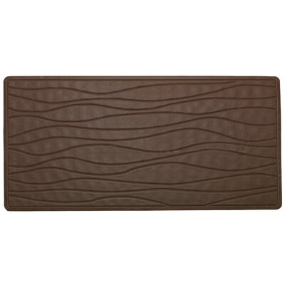 High Quality Non-Slip Rubber Bath Mat Color: Brown