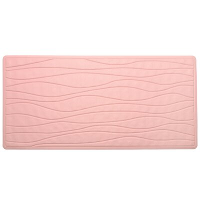 High Quality Non-Slip Rubber Bath Mat Color: Rose