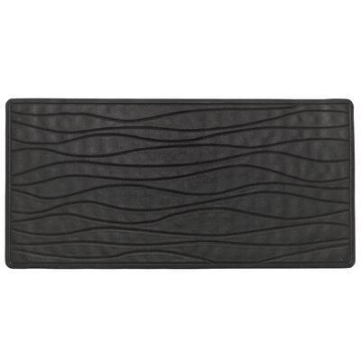 High Quality Non-Slip Rubber Bath Mat Color: Black